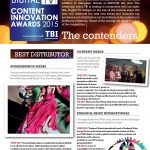 Content Innovation Awards 2015 – Bomanbridge nominated as Best Content Distributor